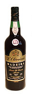 D' Oliveira 10 Year Old Medium Dry Madeira